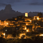 casperia-italy-night