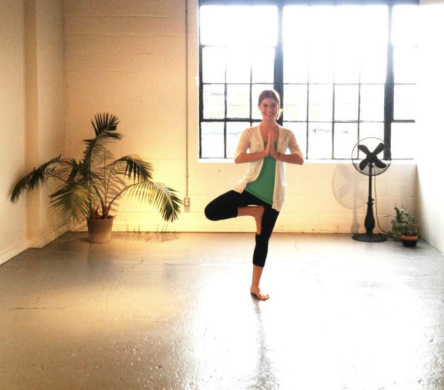 Jamie Kalynuik Prenatal Yoga Teacher