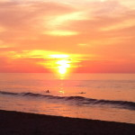 sunset-san-pancho-training-surfing