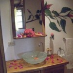 yoga-teacher-training-costa-rica-el-sabanero-bathroom-flowers
