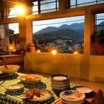 yoga-teacher-training-italy-sunrise-resort-buffet-diner