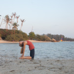 Morning Yoga on Thailand Beach