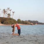 Morning Yoga on Thailand Beach