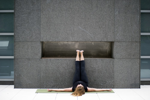 Viparita Karani- Legs up the wall