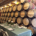 Wine Barrel Room Tasting