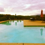 Mayacamas Ranch sunset pool