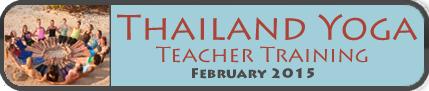 Thailand Yoga Teacher Training 2015