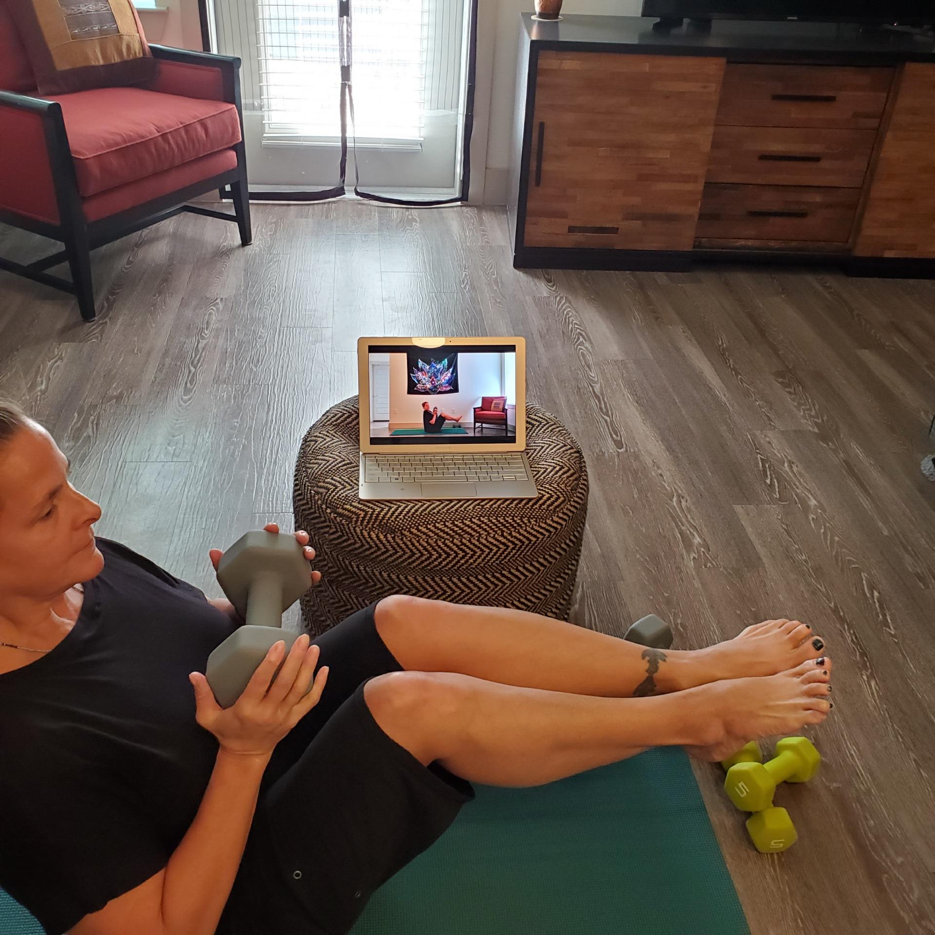 Online 300-Hour Yoga Teacher Training Yoga with Weight