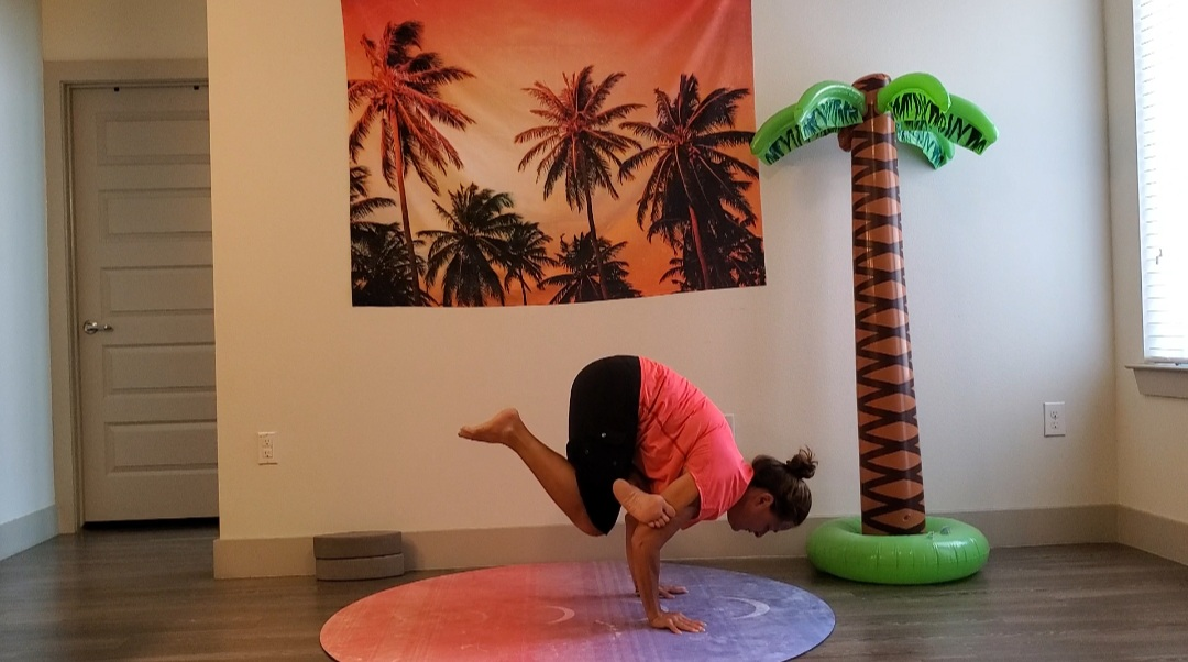 Online Yoga Teacher Training Arm Balance